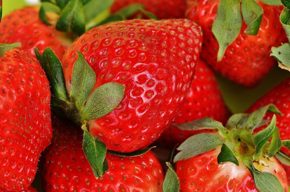 strawberries are often used as infredients for hair masks