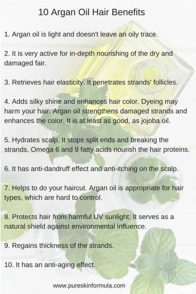 10 argan oil hair benefits