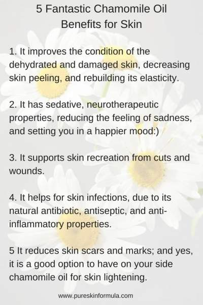 5 fantastic chamomile oil benefits for skin