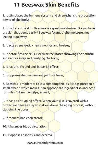 11 Beeswax benefits for skin