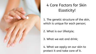 4 core factors for skin elasticity