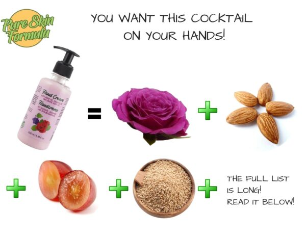 ingredients_hand cream with rose