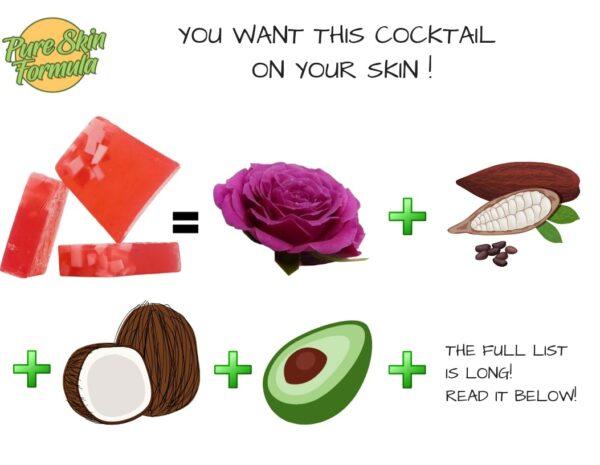 ingredients_rose oil soap