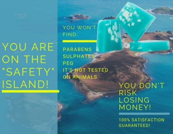 no money risk_seaweed soap
