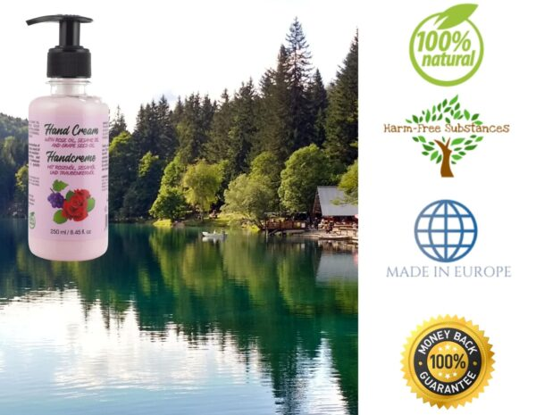 trusted product_hand cream with rose