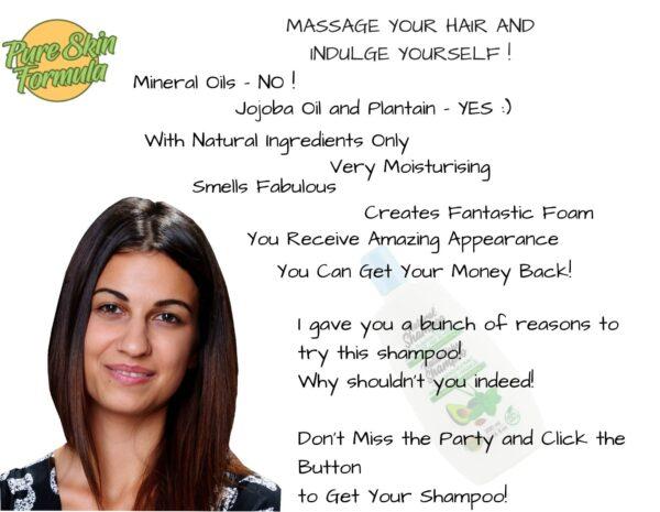 beauty product_shampoo with plantain