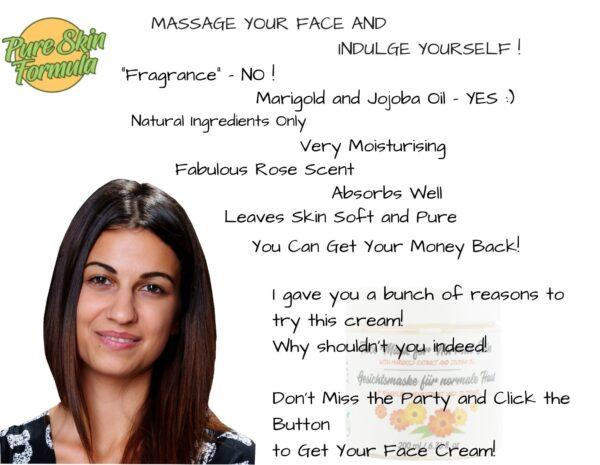 beauty product_face mask with marigold