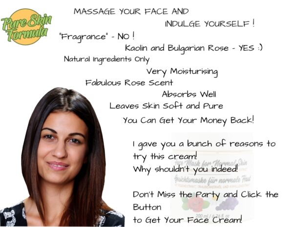 beauty product_face mask with rose