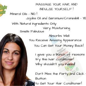 beauty product_hair conditioner with geranium