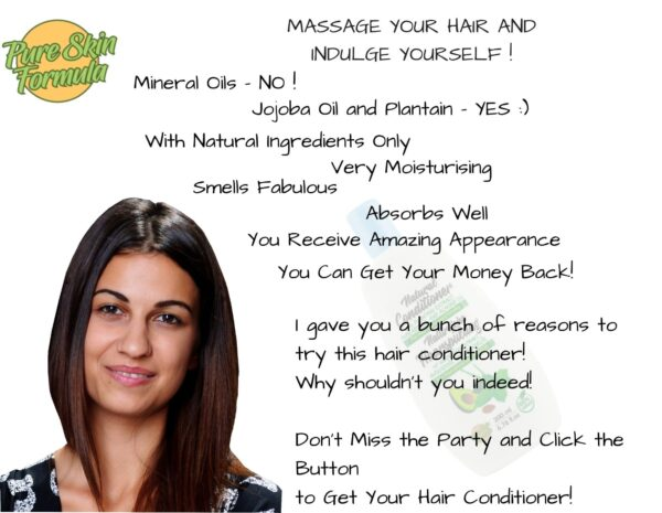 beauty product_hair conditioner with plantain