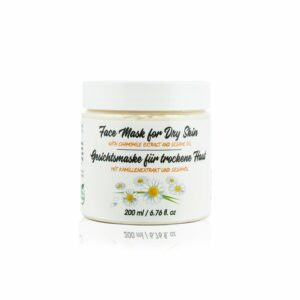 face mask with chamomile