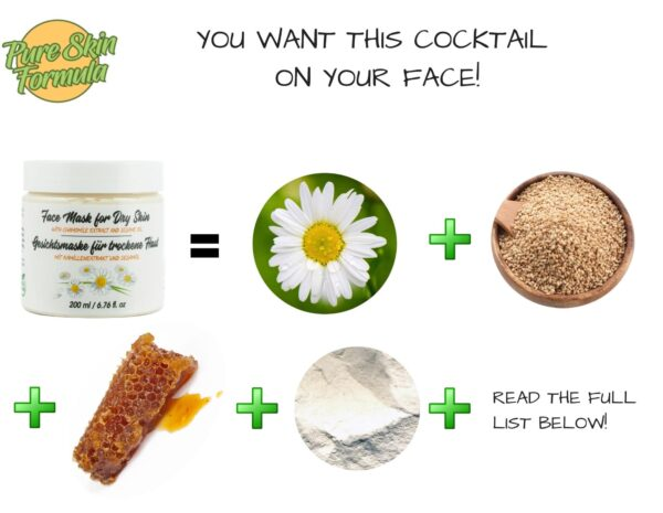 ingredients_face mask with chamomile