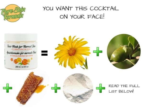 ingredients_face mask with marigold