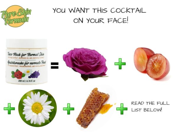 ingredients_face mask with rose