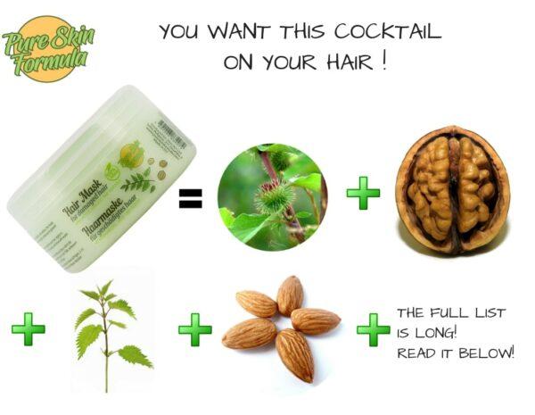 ingredients_hair mask for damaged hair