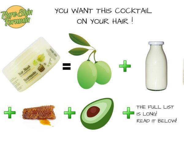 ingredients_hair mask for normal hair
