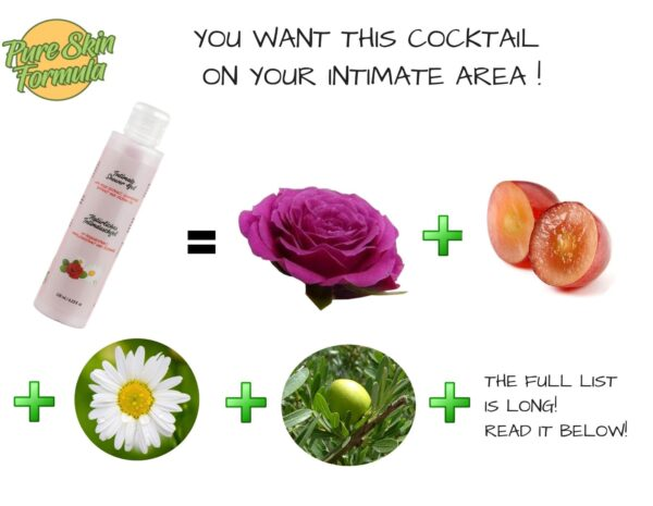 ingredients_intimate wash with rose