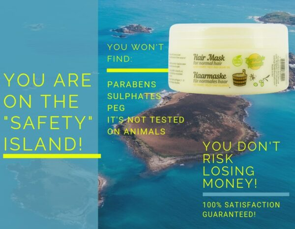 no money risk_hair mask for normal hair