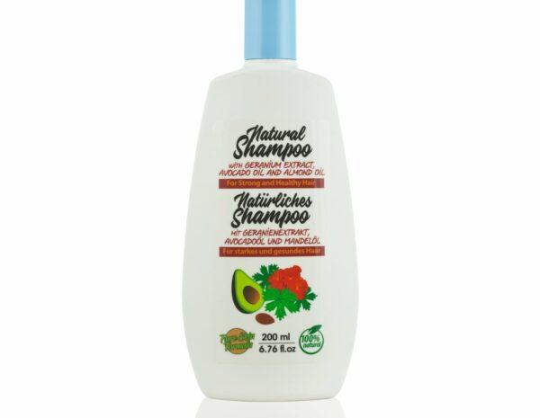 shampoo with geranium