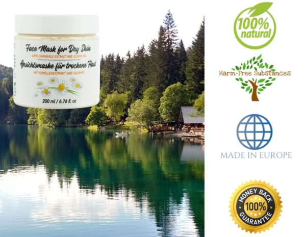 trusted product_face mask with chamomile