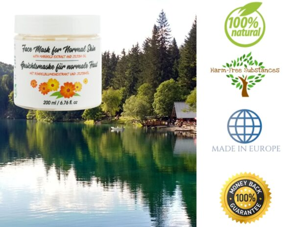 trusted product_face mask with marigold