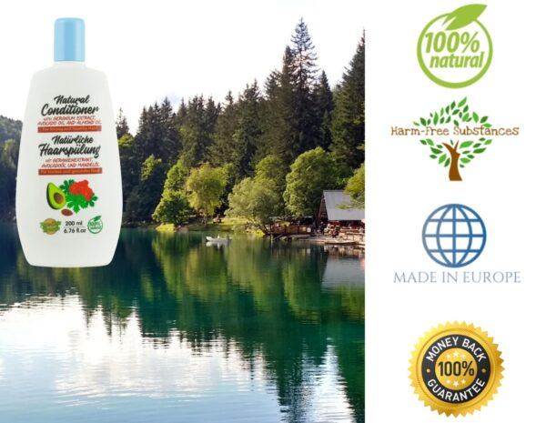 trusted product_hair conditioner with geranium