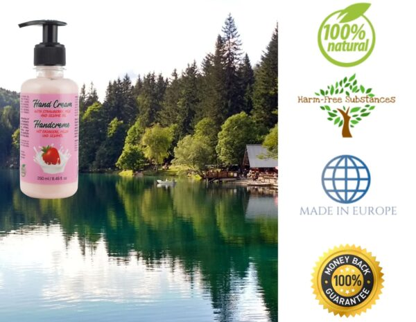 trusted product_hand cream with strawberry