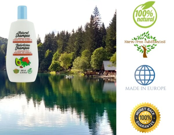 trusted product_shampoo with geranium