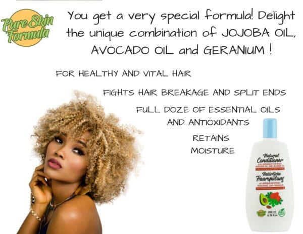 unique formula_hair conditioner with geranium