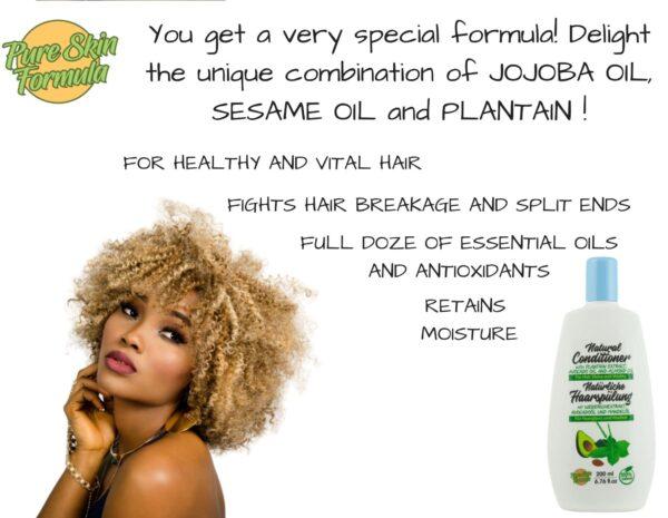 unique formula_hair conditioner with plantain