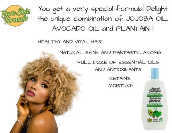 unique formula_shampoo with plantain