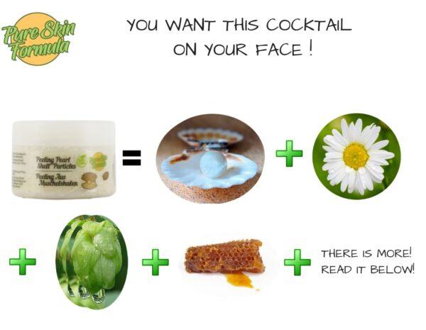 ingredients_peel off face mask