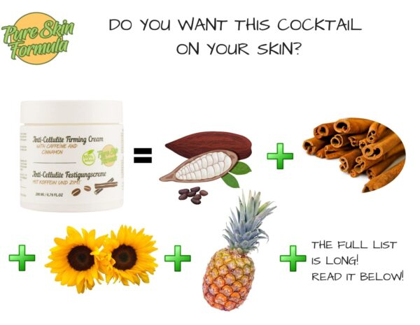 ingredients_cellulite cream with cinnamon