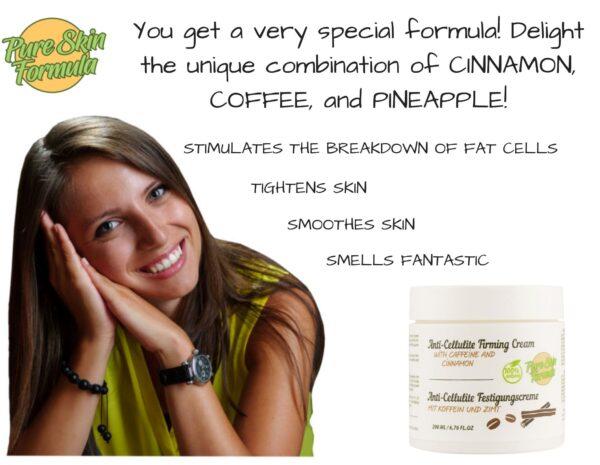 unique formula_cellulite cream with cinnamon