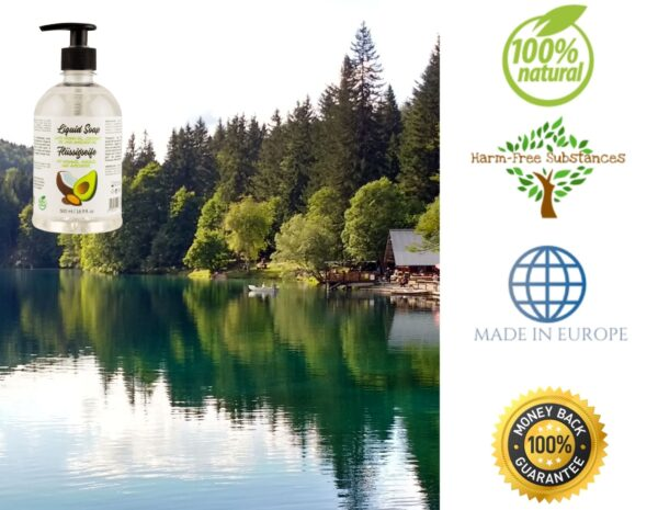 trusted product_liquid soap with argan oil