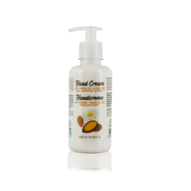 hand cream with argan oil